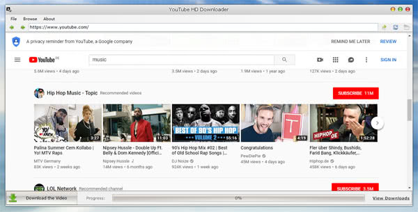 YouTube HD Downloader Tutorial