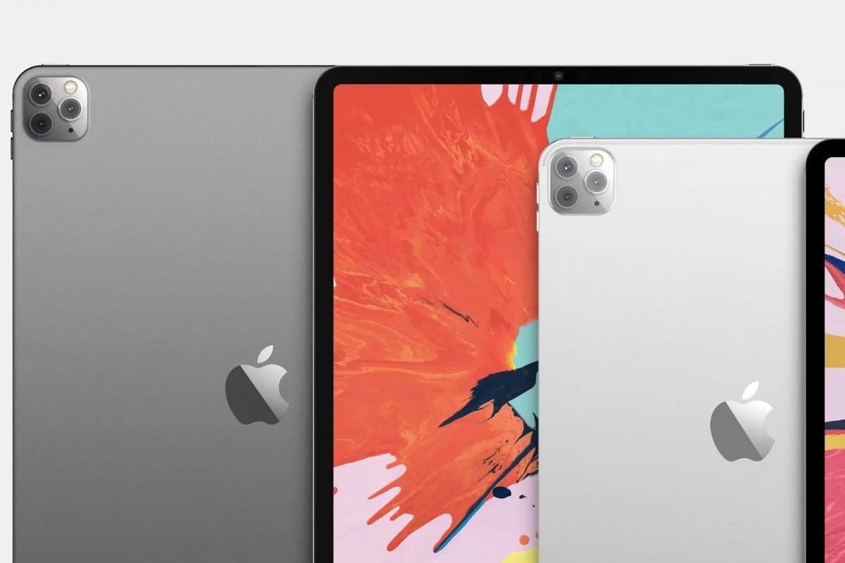 Apple iPad Pro 2020 Rendered, Triple Camera Like iPhone 11 ...