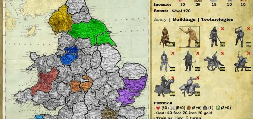 Knights of War Strategy Screenshot