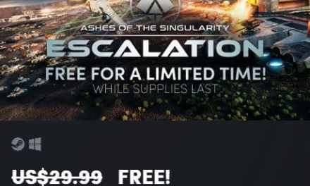 FREEBIE giveaway ASHES OF THE SINGULARITY ESCALATION