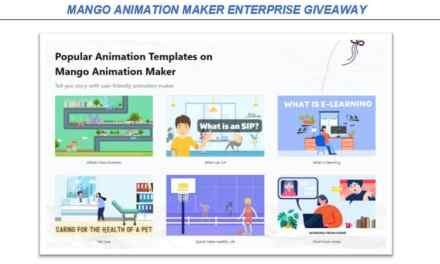 Mango Animation Maker Enterprise Giveaway 100% Discount