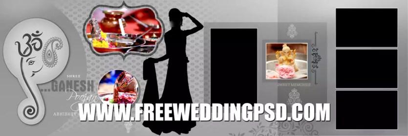 free psd wedding invitation card