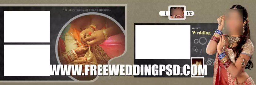 cover wedding psd free