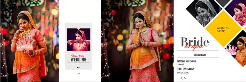Indian Karizma Albums 12X36 PSD Sheets For couple Photos