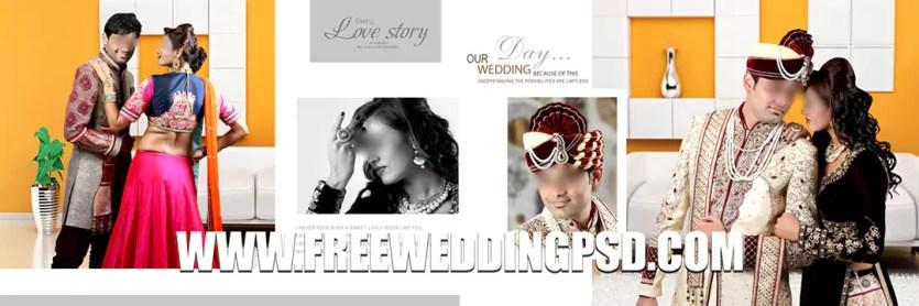 PSD 12×36 New Wedding Album DM Download in 2020