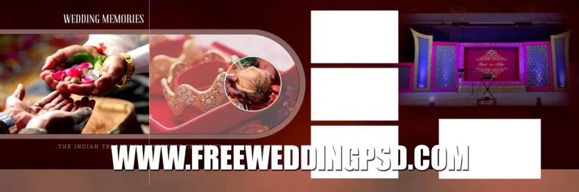 x banner wedding psd