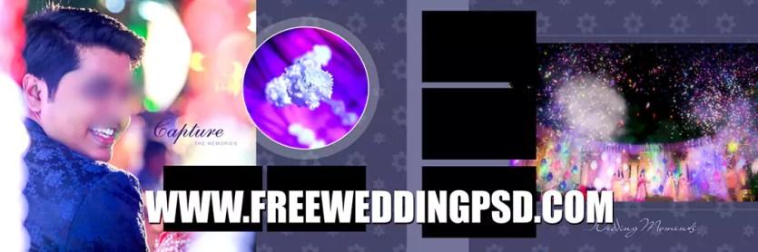 x banner wedding psd download
