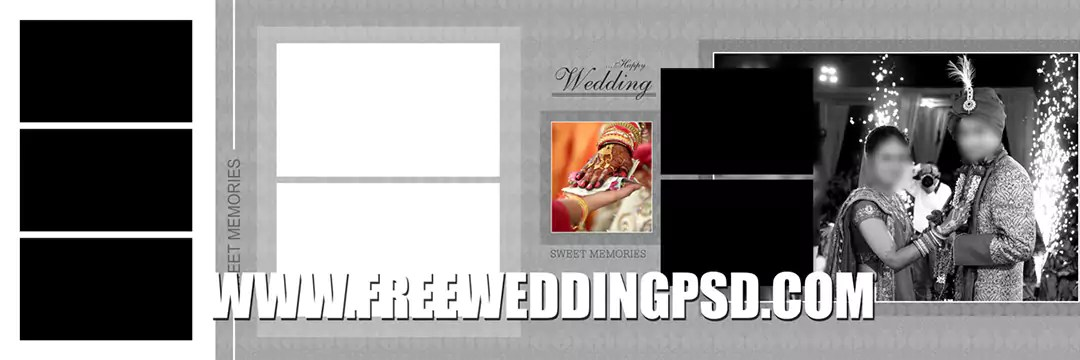 Free Wedding Psd 12 X 36 (732) | indian wedding psd background