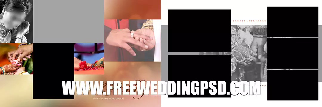Free Wedding Psd 12 X 36 (734) | indian wedding photoshop actions