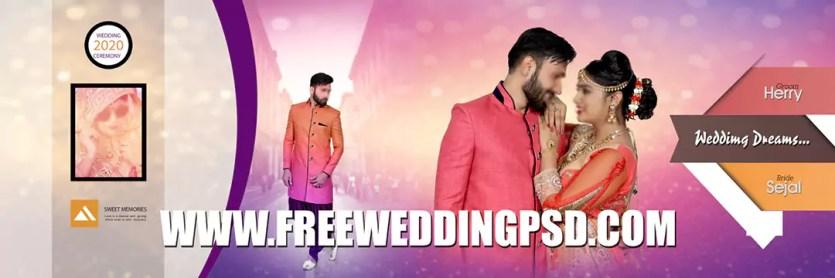free psd wedding invitation