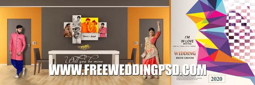 free wedding psd download