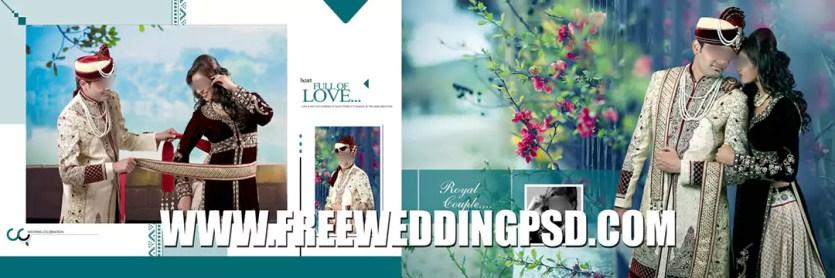 free indian wedding invitation psd