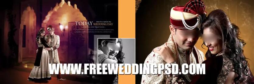 wedding album text psd free download
