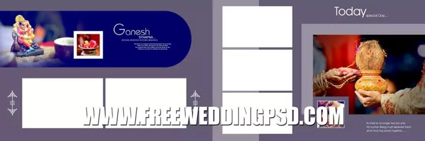 creative indian wedding album 12×36 psd templates