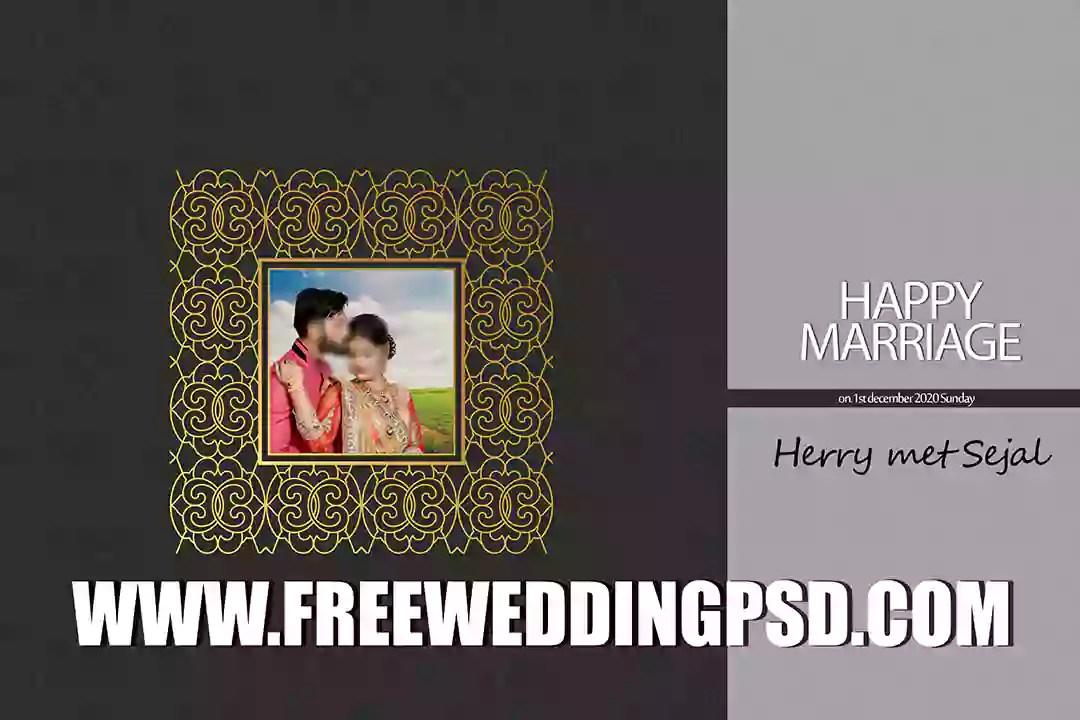 Free Wedding PED #Psd  (27) | psd templates wedding album