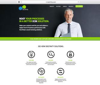 DocFinity Website