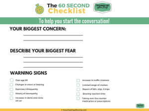 Toolkit The 60 Second Freewheeling After Sixty Checklist
