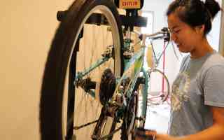 Rice Bikes mechanics are an important part of Freewheels' success.