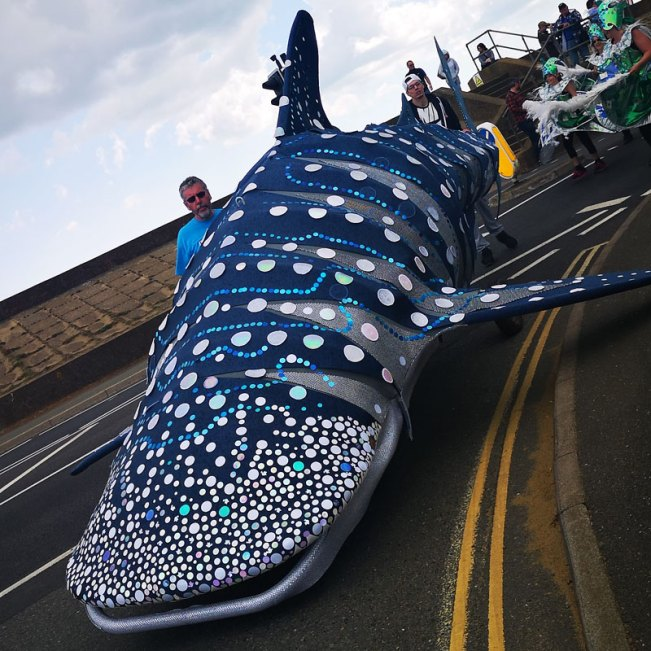 Parade shark