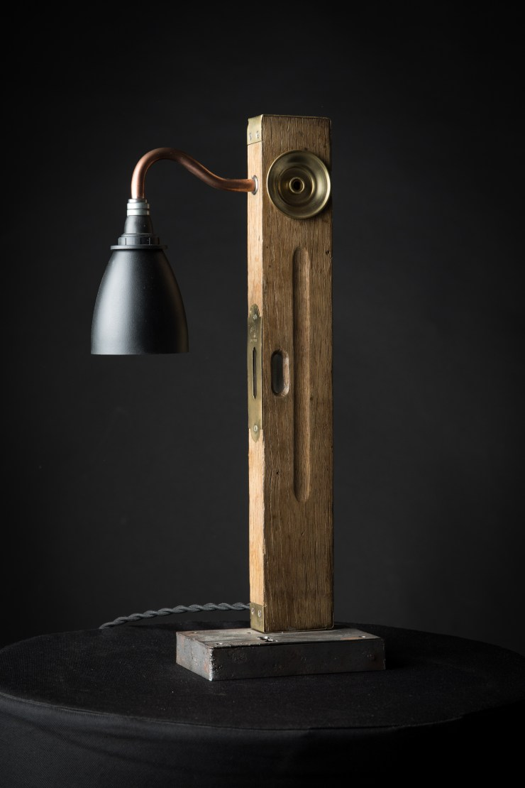 lampe vintage upcycling