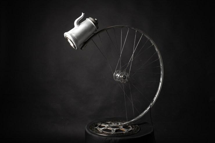 lampe roue de vélo