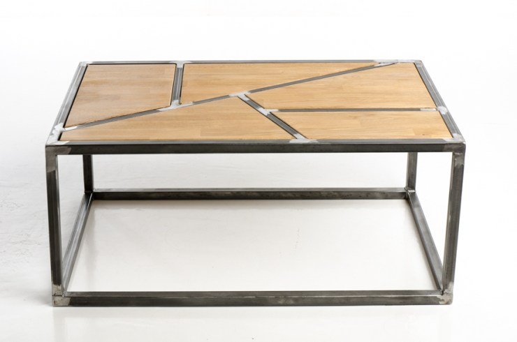 table basse style indus
