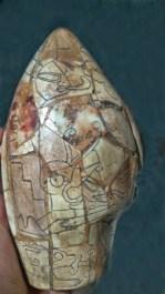 Parte posterior de la cabeza Alien.