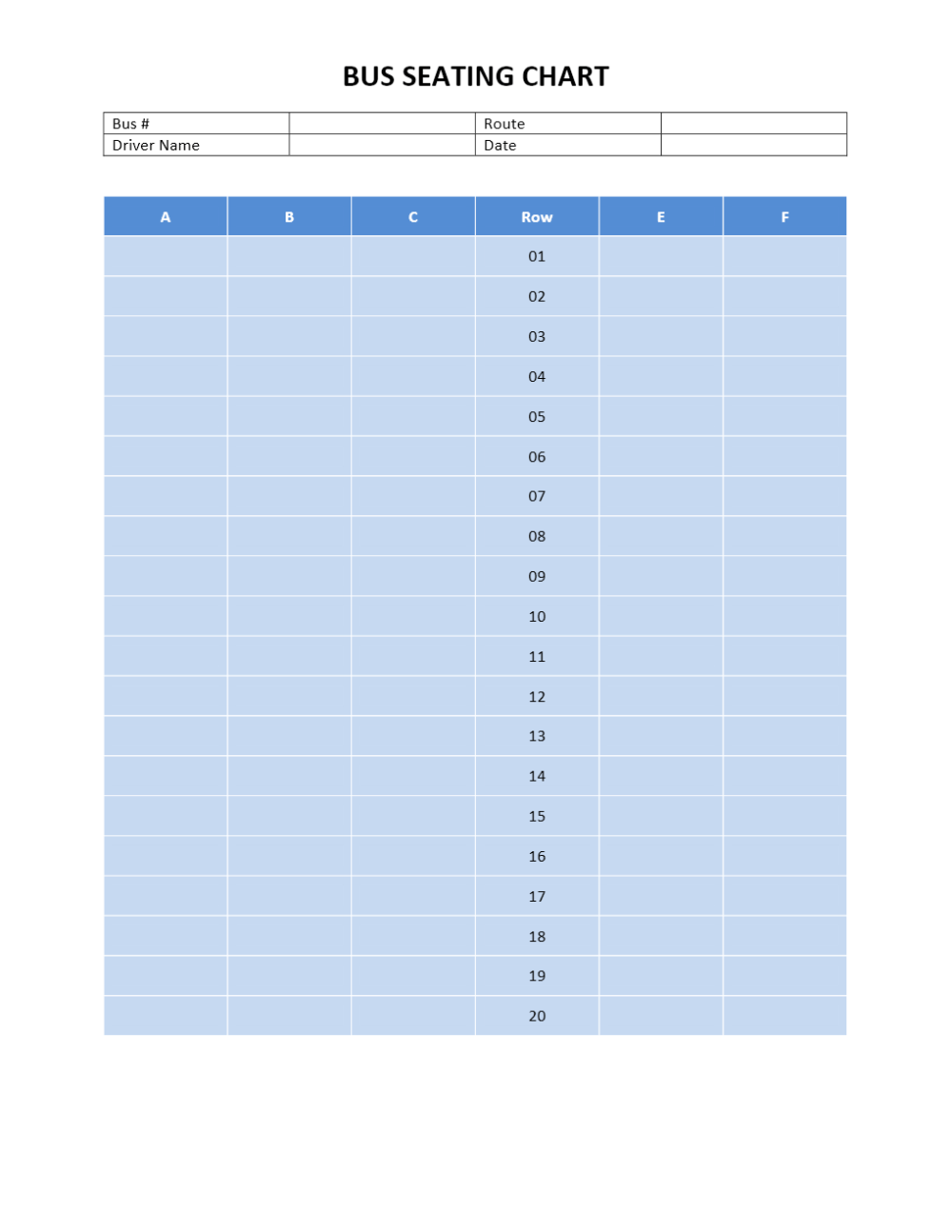 medium resolution of bus seating chart 3 2 seat formation