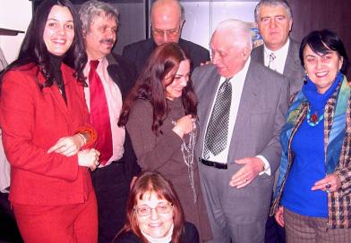 Foto: Aurelian Băluță la aniversarea Seniorului Radu Câmpeanu