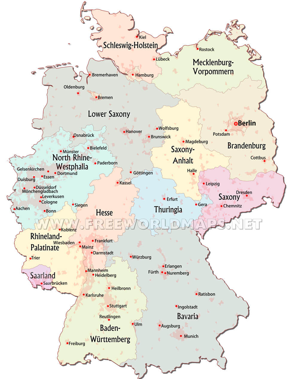 Saarbrucken Germany Map.Maps Saarbrucken Saarbrucken Germany Vector Map Light
