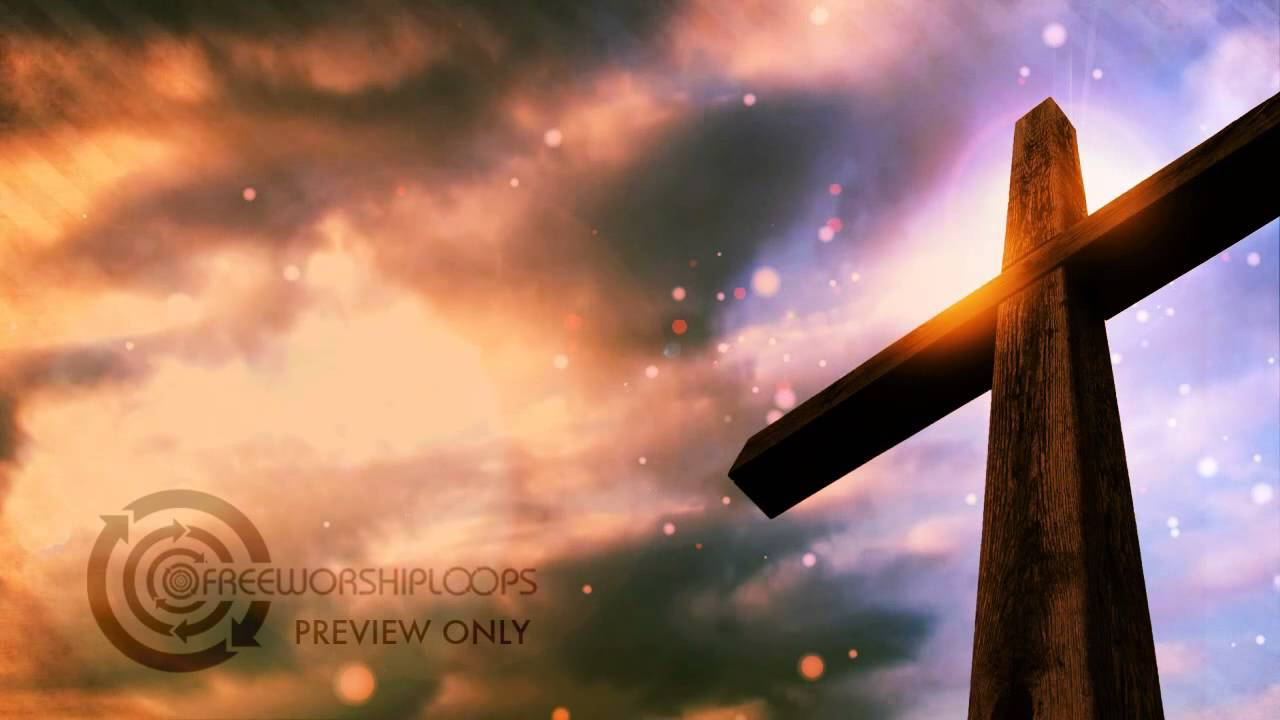 Christian Wallpaper Fall Offering Cross And Sky Free Looping Video Background Free Worship