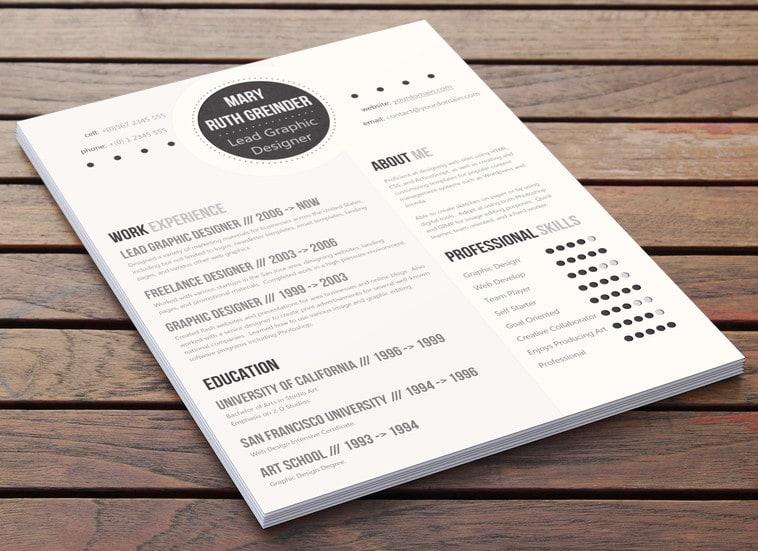 Creative Resume Designs > FREEYORK