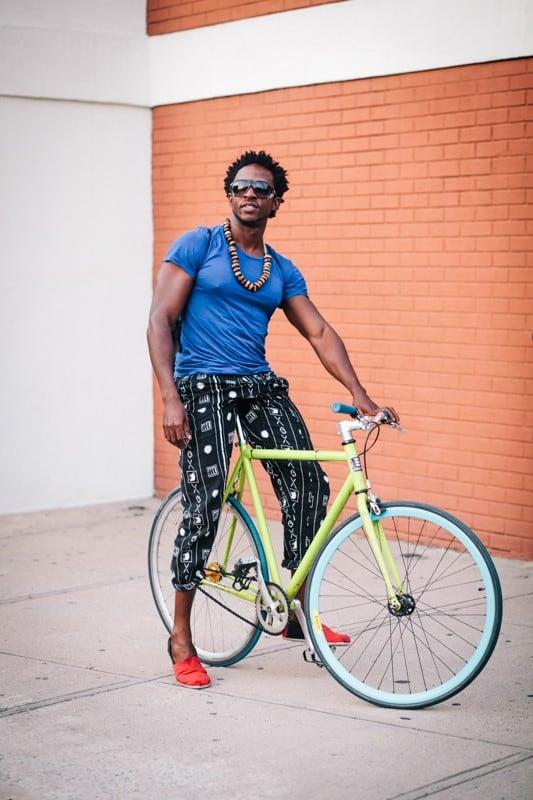 Stylish Portraits Of NYC Cyclists With Their Bikes Gt FREEYORK