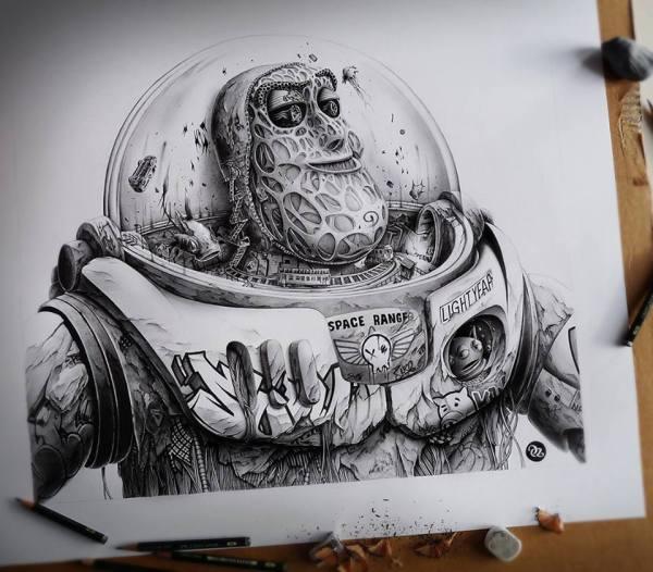 Incredible Pencil Drawings Paper Pez Freeyork