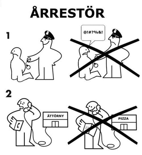 Hilarious IKEA 'assembly' Instruction Jokes > FREEYORK