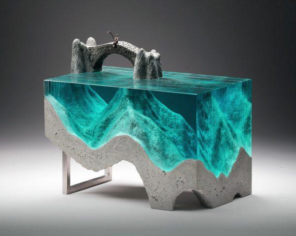 Contemporary Glass Art Sculptures