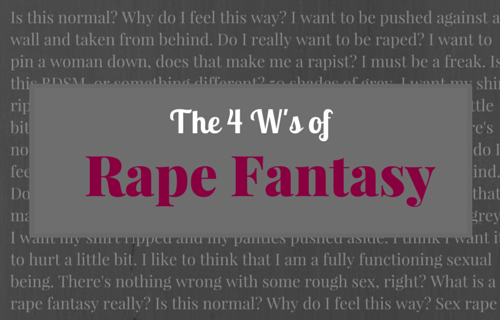 Rape Fantasy After Sexual Assault