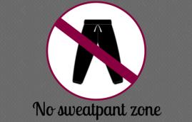 sex and motherhood no sweatpant zone