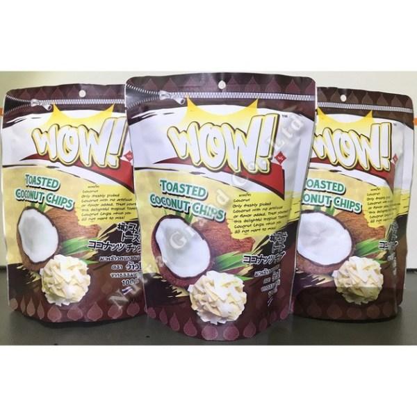 Coconut Chips 100g OEM Thailand