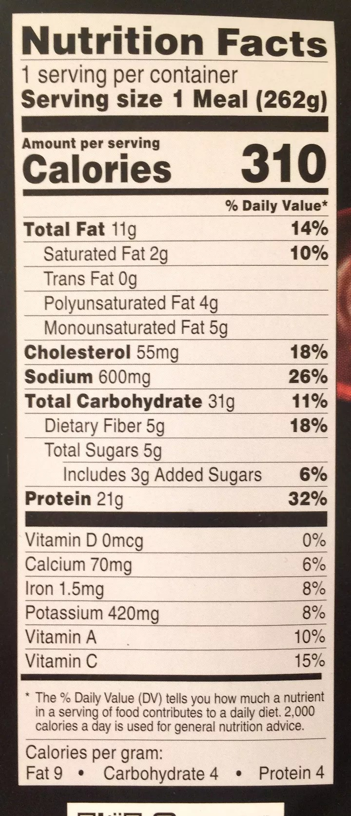 Facts About Healthy Eating Healthy Choice Shiitake Chicken Power Bowl Review
