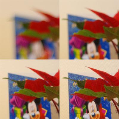 Detail van de diafragma's