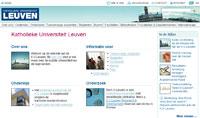 De nieuwe K.U.Leuven-website