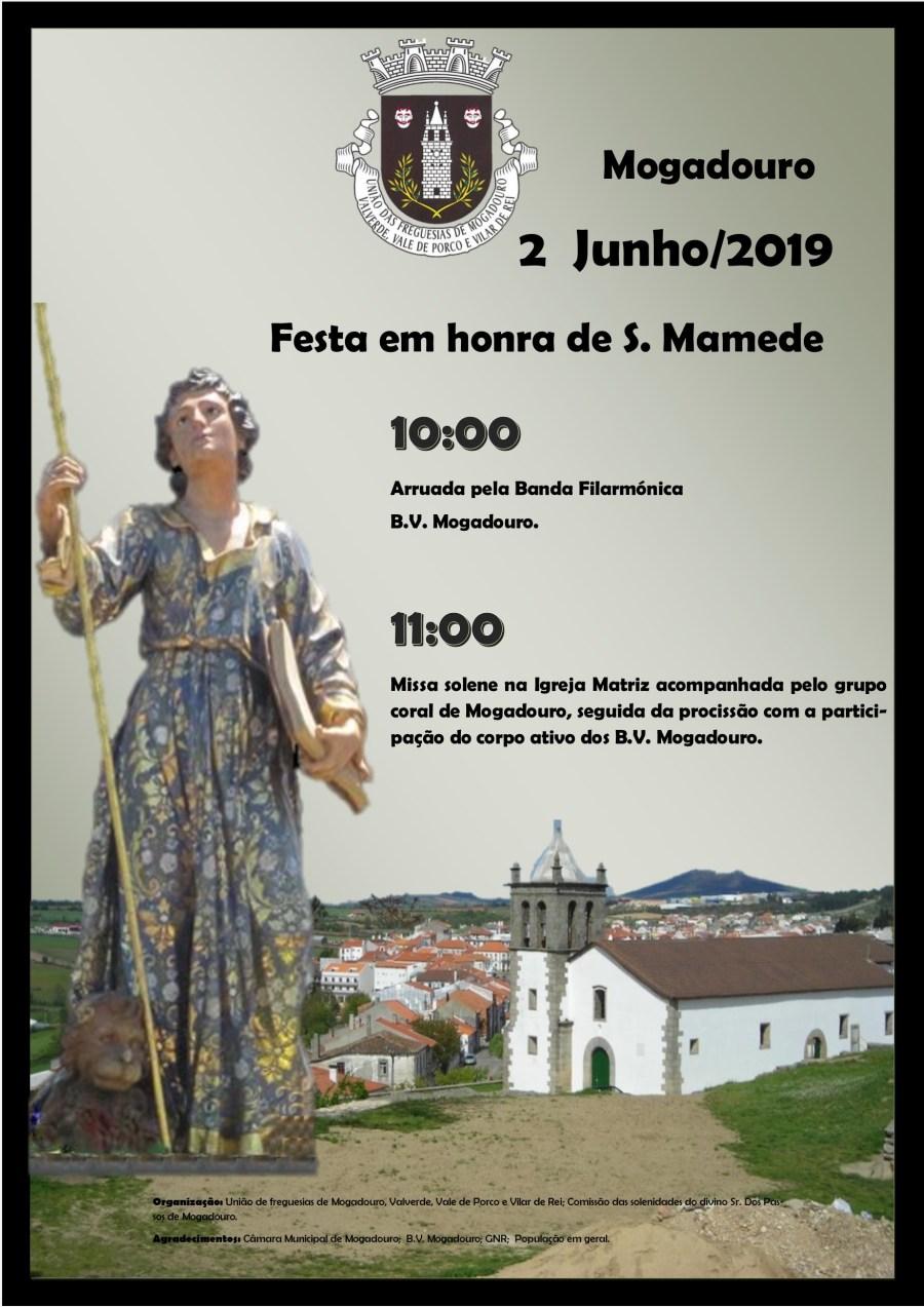 Cartaz São Mamede 2019