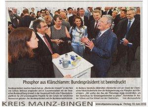10.06.2016 CF Budenheim - Klärschlammaufbereitung - BP Berlin