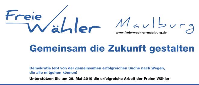 Gemeinsam die Zukunft gestalten - Freie Wähler Maulburg