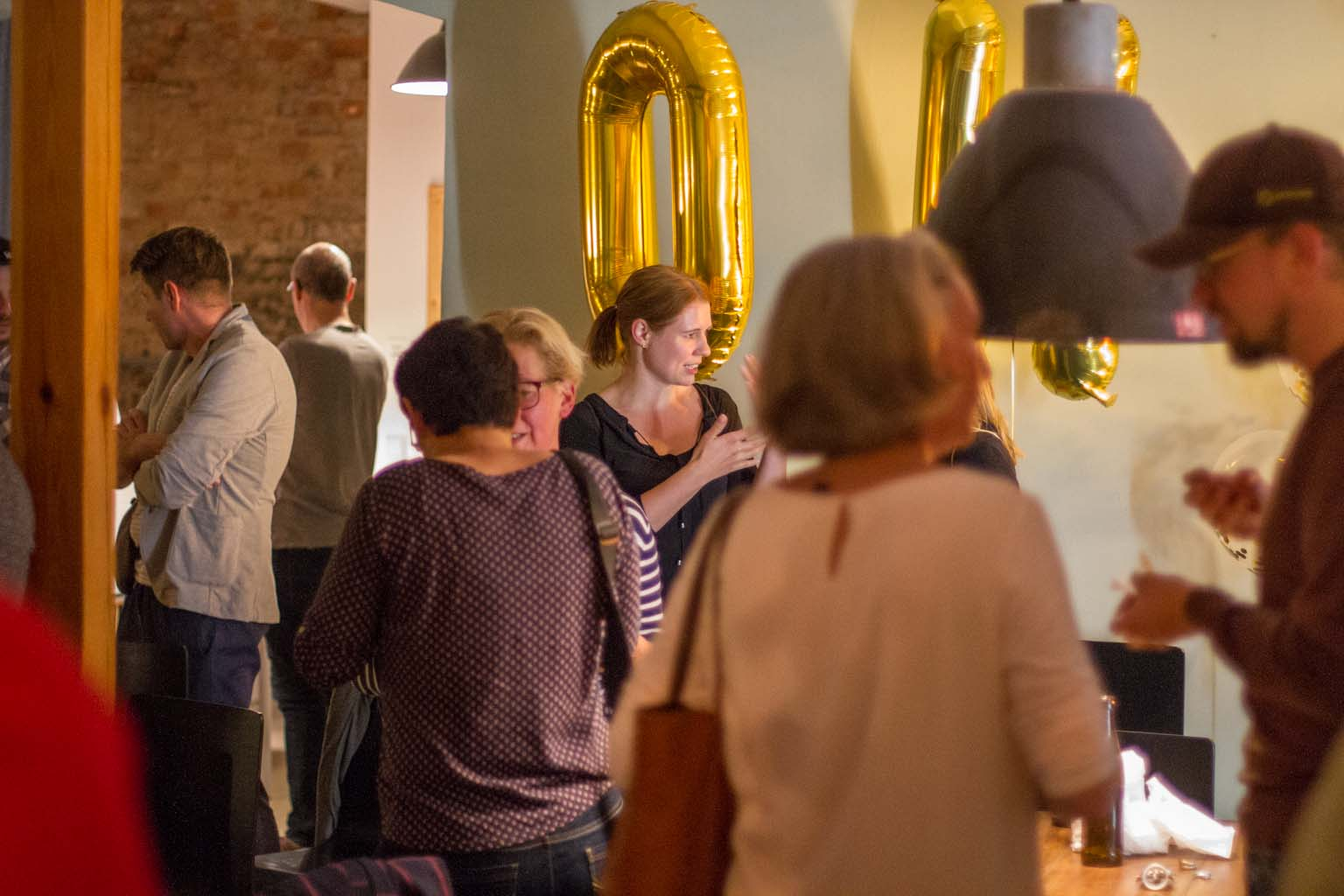 45. Unternehmerstammtisch Leipziger Westen Osthof Studio
