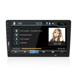 9001 9 Zoll 1 DIN Auto MP5 Multimedia Player Indash Stereoradio 1080P FM Bluetooth Touchscreen USB Mirror Link
