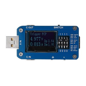 QC2.0 3.0 Type-C PD3.0 FCP AFC SCP MTK Schnelle Ladung PD Protokoll Controller Test Board USB Tester