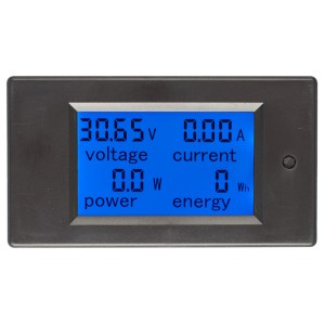 20A DC Digital Multi-Funktions-Spannung Strom Power Electric Energy Meter Batterie Tester Built-in Sh
