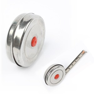 1m 2m 3m Mini Retractable Tape für Home Factory Office Edelstahl Holzbearbeitung Maßband